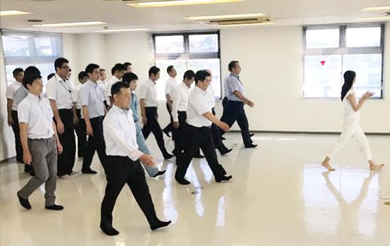 効果的な歩き方プログラム1
