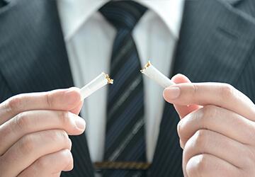 禁煙の規定化・禁煙外来受診費用の補助