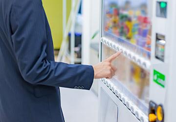 自販機を糖質控えめの飲料に替える